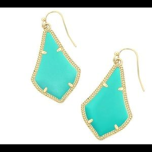 Kendra Scott Alex turquoise earrings